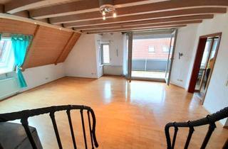 Wohnung kaufen in 74423 Obersontheim, Moderne 76m² exklusive Maisonette-Wohnung (von Privat) mit Garage