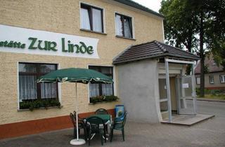 Gewerbeimmobilie kaufen in 15890 Schlaubetal, Schöne Dorfgaststätte mit Saal im lauschigen Schlaubetal!