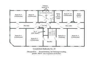 Büro zu mieten in 06406 Bernburg, 250 m² Arztpraxis oder moderne Büroräume