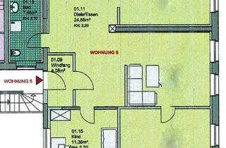 Wohnung mieten in Markt 16, 39240 Calbe, 3 Raumwohnung mit Saaleblick