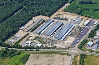 Gewerbeimmobilie mieten in Industriestrasse, 77694 Kehl, Lager- / Produktionshallen 4.500qm, Freigelände
