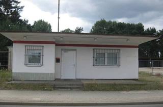 Immobilie mieten in Seeplanstraße 19, 15890 Eisenhüttenstadt, Büro-, Lager- und Freifläche im Gewerbegebiet