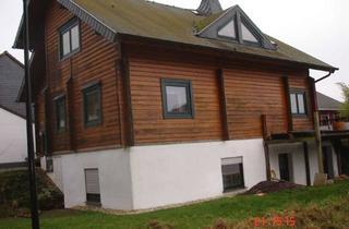 Haus kaufen in Oberstwiese 26, 54426 Heidenburg, Holzblockhaus mit Carport und Nebengebäude
