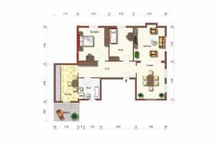 Wohnung mieten in 66111 Saarbrücken, Altbauwohnung--NÄHE STADEN--NEU RENOVIERT--
