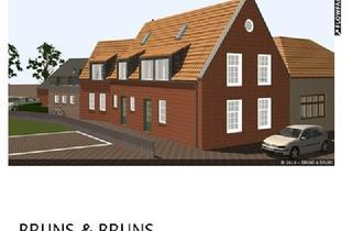Wohnung kaufen in 26506 Norden, Ruhige Neubau Erdgeschosswohnung im Stadtzentrum mit großzügigem Wohn-Essbereich und Sonnenterasse.