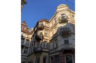 Wohnung kaufen in 76530 Baden-Baden, Jugendstil ETW im 1. OG direkt in der Fußgängerzone von Baden-Baden mit Pkw-Stellplätze im Parkhaus.