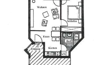 Wohnung kaufen in 89537 Giengen, 2 Zi.-WHG neuwert. renoviert, mit Balkon u. Garage !