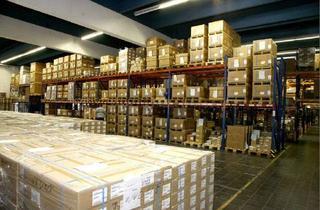 Gewerbeimmobilie mieten in 65451 Kelsterbach, **1 Rampentor je 100 m²** 7500 m² Lager-/Logistik-/Hallen-/Hochregallager ****PROVISIONSFREI****