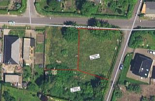 Grundstück zu kaufen in Martin-Luther Straße, 14943 Luckenwalde, Baugrundstück für 1-3 Einfamilienhäuser in guter Lage in Luckenwalde zu verkaufen - Teilung möglich