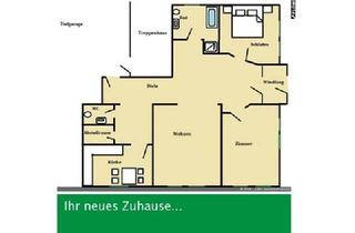 Wohnung kaufen in 01589 Riesa, Einliegerwohnung im Mehrfamilienhaus in Riesa!