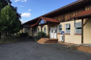 Gewerbeimmobilie kaufen in 96190 Untermerzbach, Gewerbeobjekt mit sehr vielseitiger Nutzungsmöglichkeit, ca.940 qm - herrlicher Ausblick!!