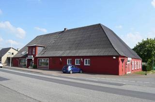 Gewerbeimmobilie kaufen in 25885 Wester-Ohrstedt, Gaststätte mit drei Sälen, Gaststube, Gästezimmern und enormem Ausbaupotenzial zu verkaufen