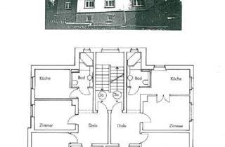 Wohnung kaufen in 08289 Schneeberg, 3-Zimmerwohnung mit Holzboden + liebevoll angelegtem Garten