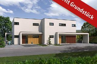 Doppelhaushälfte kaufen in 66346 Püttlingen, Ihr Wunschhaus im Bauhausstil in bevorzugter Lage