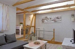 Wohnung mieten in 99091 Erfurt, (EF0446_M) Erfurt: Gispersleben, neu möblierte Wohnung über 2 Etagen, ruhige Lage, Dachbalkon, 2x Bad/WC, WLAN inklusive