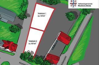 Grundstück zu kaufen in Kirchstraße, 39397 Gröningen, Grundstück Baugebiet Bauplatz in Großalsleben bei Oschersleben Gröningen