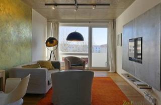 Wohnung mieten in 01640 Coswig, (EF0500_M) Dresden: Coswig, genial gestaltete Dachwohnung mit Balkon, neu möbliert, WLAN und PKW-Stellplatz inklusive