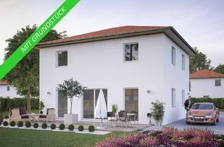 Villa kaufen in 04651 Bad Lausick, Massive Stadtvilla mit Ihrem eigenen Grundriss. Das Grundstück haben wir auch für Sie in Bad Lausik.