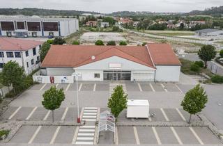 Gewerbeimmobilie mieten in Am Kreisel, 91637 Wörnitz, Attraktive Ladenfläche in der Nähe zur BAB A7