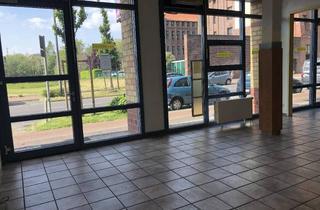Geschäftslokal mieten in 47805 Krefeld, Barrierefreies Ladenlokal in zentraler Lage (Seidencarre)- Rückseite Hauptbahnhof