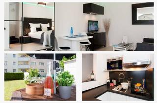 Wohnung mieten in Hohe Str., 63069 Offenbach am Main, SmartWorking Wohnung mit Garten-Terrasse und Klimaanlage. Top Lage Frankfurt/Offenbach