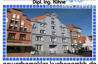 Büro zu mieten in 23966 Wismar, Prov.-frei: 1. Adresse ! Top-Restaurantfläche im Stadtzentrum