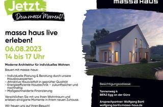 Haus kaufen in 88484 Gutenzell-Hürbel, BAUEN MIT MASSA HAUS