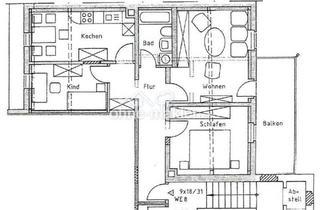 Wohnung kaufen in 08606 Oelsnitz, Solide und nachhaltig - Vermietete 3-Zimmer-ETW mit Balkon und tollen Merkmalen