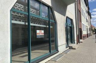 Geschäftslokal mieten in Mozartstrasse, 04808 Wurzen, Wurzen* verwirklichen Sie Ihre Geschäftsidee* großzügiger Laden mit sep. Büroraum, 2 TG-SP*