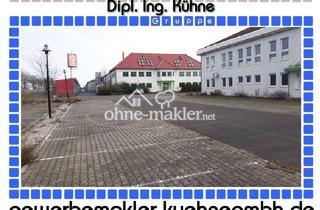 Gewerbeimmobilie kaufen in 14793 Ziesar, Prov.-frei: Funktionale Gewerbeimmobilie mit Hallen- und Bürogebäude
