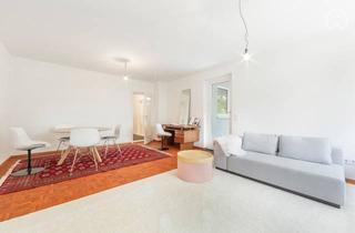 Wohnung mieten in 82008 Unterhaching, Erstbezug nach Restaurierung, 3,5 Zimmerwohnung mit Himmelbett und großer Terrasse im Hochparterre
