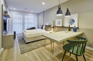 Wohnung mieten in Tunzhofer Straße, 70191 Stuttgart, Voll ausgestattete 1-Zimmer-Wohnung mit Balkon im Apartmenthouse im Stuttgarter Zentrum