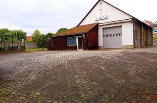 Gewerbeimmobilie kaufen in 06268 Querfurt, Grundstück mit 300 m² Bebauung im Zentrum von Mücheln OT Langeneichstädt