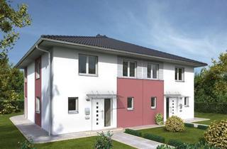 Villa kaufen in 63877 Sailauf, Wunderschöne Stadtvilla - Doppelhaushälfte inkl. Keller und Grundstück in Sailauf