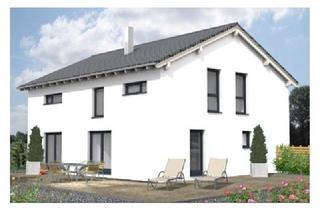 Villa kaufen in 36211 Alheim, Neubau + Einliegerwhg. Typ A: 150 m² + 50 m² ELW, Typ B: 120 m² + 80 m² ELW. Alle Dacharten gleich.