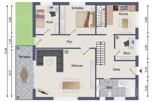 Haus kaufen in 24594 Mörel, Zweifamilienhaus in attraktiver und ruhiger Wohnlage in Mörel zu verkaufen.