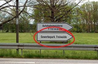 Gewerbeimmobilie mieten in Am Stieg, 15910 Bersteland, Gewerbepark Freiwalde (Ausfahrt A13/ nahe Autobahndreieck Spreewald)