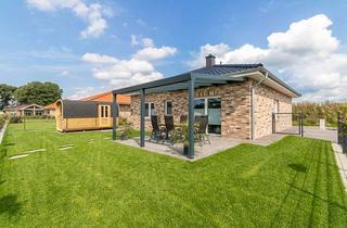 Wohnung mieten in 26907 Walchum, Ferienhaus für 6 Gäste mit Sauna, Kamin und Seeblick in Walchum